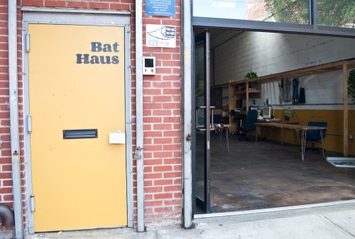 Meet Bat Haus' new sexy door!