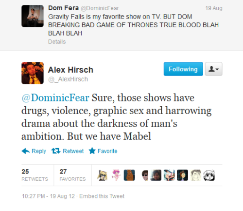 Real Talk with Alex Hirsch.