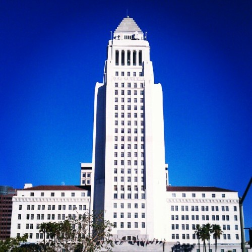 City Hall #dtla #superman  (Taken with Instagram)