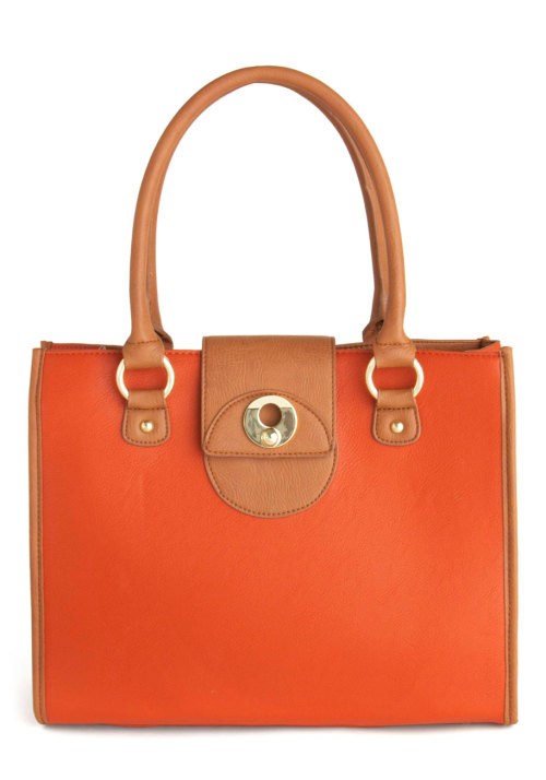 Shop the Orange You Adorable Bag.