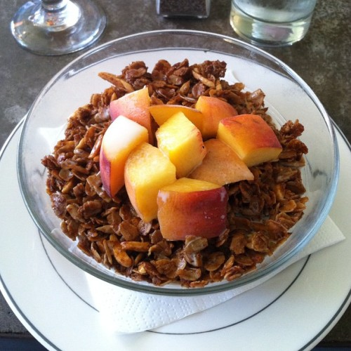 Amazing granola post BOOK PUBLISHER MEETING. WHAT GOES ON?!?! THANK YOU JESUS.  (Taken with Instagram)