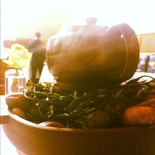 Highbrow clam bake #emp #diehappy (Taken with Instagram at Eleven Madison Park)