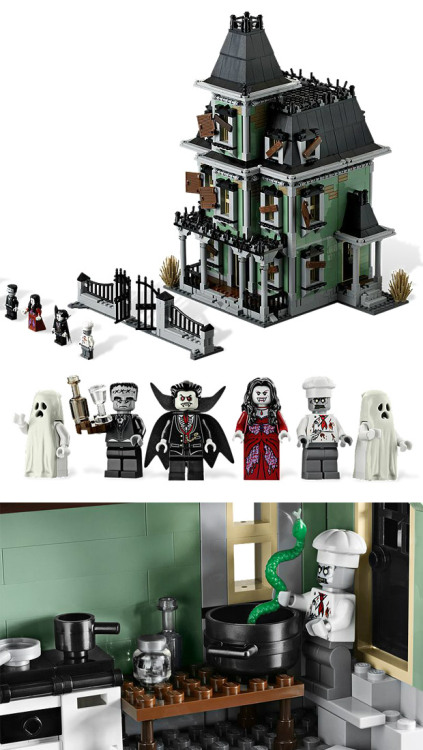 Haunted Lego Mansion