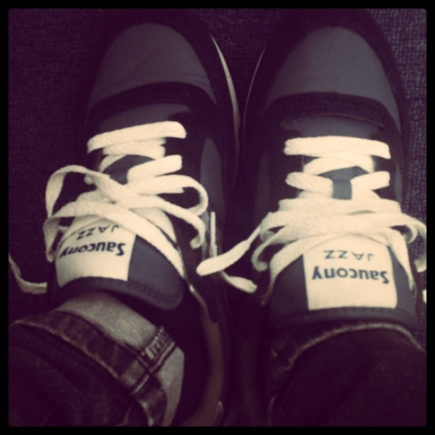 #todayskicks Saucony Jazz #classics  (Taken with Instagram)
