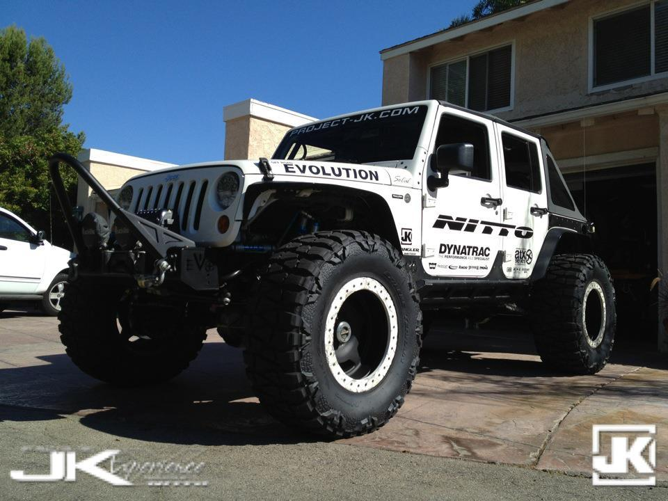 "Project JK Wayoflife's JKU ""Moby"" headed out to the 2012 JK Experience"