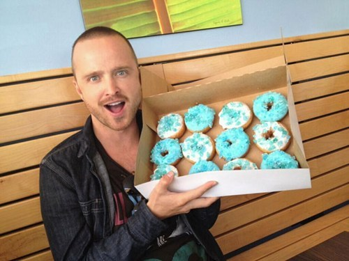 "thedailywhat:  Lunch Rush: This edition brought to you by ""Breaking Bad Blue Sky"" donuts. What else? TDW Geek: Morgan Freeman and Elizabeth Banks join the Lego movie. Mean: Donald Trump tweets some hate directed at Arianna Huffington and her gay ex Ballsy: From jail, Pussy Riot members call Putin's regime ""scared"" Bullsh*t: Social media, according to blogger B.J. Mendelson Lunch Lady: Abigail Ratchford Lunch Leisure: Strike of Rage (via) Lunch List: 40 Hilarious Nicolas Cage Face Swaps"