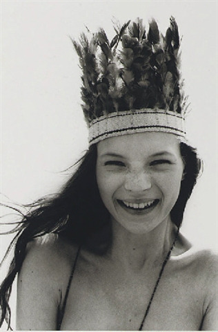 Corinne Day 'Kate Moss'  Born in 1965, Day was a self-taught photographer and is known for bringing a candid, documentary feel to fashion image making. One of her most renowned works includes her depiction of Kate Moss in the 3rd Summer of Love editorial for the FACE magazine in 1990.