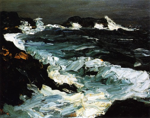 Rough Seas near Lobster Point, 1903Robert Henri [1865-1929]