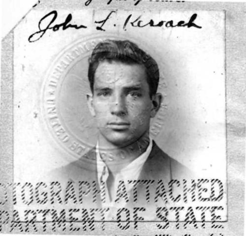 chermer:  Jack Kerouac Passport Photo bonus points: Pompadour hair