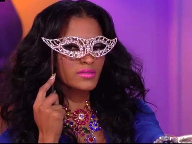 "Joseline's ""Hater Mask"" and 13 other ""Unmissable Moments"" from the Love & Hip Hop: Atlanta reunion last night."