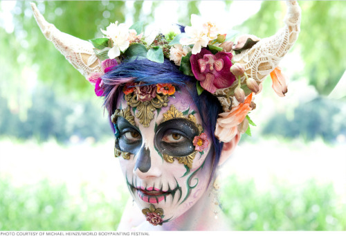 Have you checked out these photos from this year's World Bodypainting Festival yet?