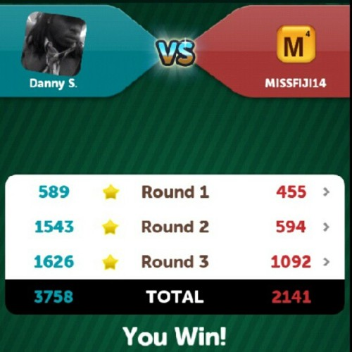 #getonmylevel #ScrambleWithFriends  (Taken with Instagram)