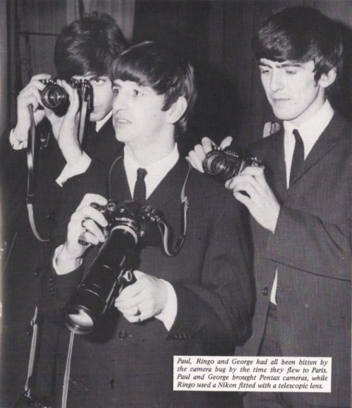 Behind the Camera… The Beatles