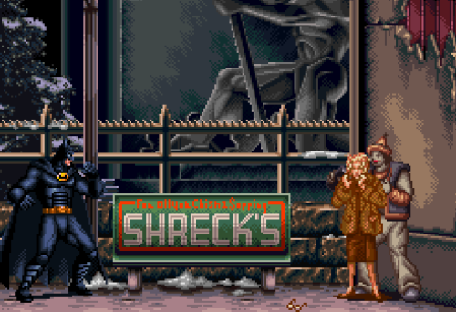 Batman Returns, SNES.