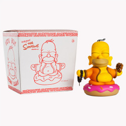 'Toys-4-Us' of the day!   Kidrobot x The Simpsons: Homer Buddha   On September 6 Kidrobot releases their 7-inch Homer Buddha!  [Kidrobot]
