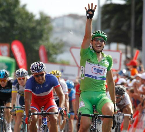 Vuelta a Espana 2012 | Stage 10 Big John clocks up stage win number four! (via Wall Photos)