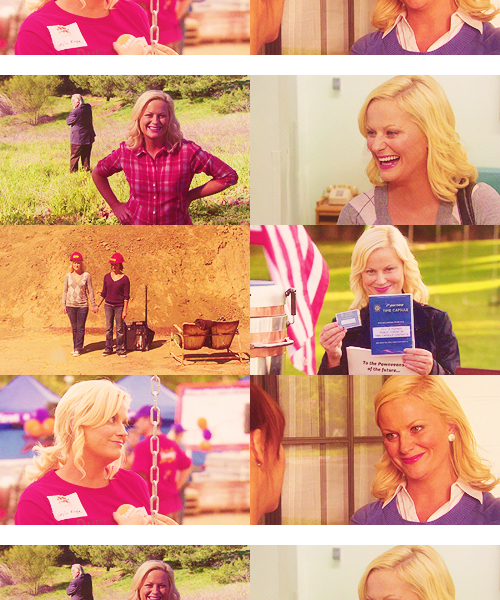 10 FAVORITE FEMALE CHARACTERS IN TV ► Leslie Knope (Parks and Recreation) I would like to be president someday, so no, I've not smoked marijuana. I ate a brownie once at a party in college. It was intense. It was kind of indescribable, actually. I felt like I was floating. Turns out there wasn't any pot in the brownie. It was just an insanely good brownie.