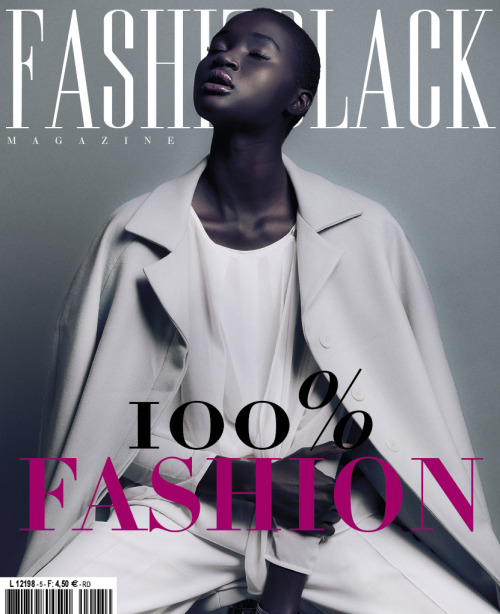blackfashion:   Exactly one year ago (August 28th 2011), 300 people helped us through Kickstarter to  transition from online to international printed magazine. Let's celebrate this today with our brand new September issue cover, featuring sudanese model Ataui Deng. +200 PAGES full of Fashion, Beauty and Culture. You'll be able to grab your copy in 3 weeks! More info on our stockists:http://www.fashizblack.com/en/ & pre-order : http://www.fashizblack.com/en/pre-order/