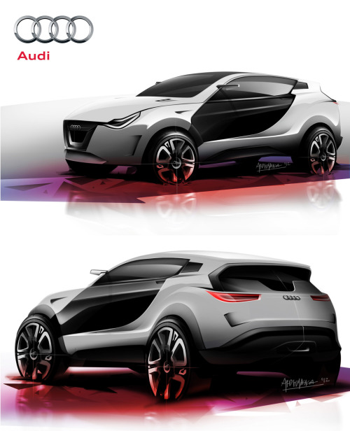 Audi RS Crossover - Sketch