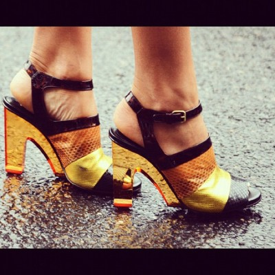 Miss See It All! #Soleful #heels #fashionweek #streetsyle (Taken with Instagram)