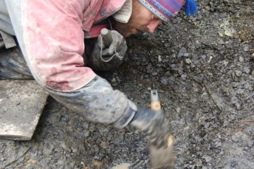 "THEY FOUND THE SKULL! Our Earth Sciences Curator Pat Druckenmiller was part of this expedition in Norway that solved the mystery of the Colymbosaurus, an animal first found in Great Britain 150 years ago. But until now, no one had ever seen the skull of this kind of plesiosaur. ""I have never worked with a skull this fragile,"" Pat says. (via Sea Monsters of the North: Day 11-Skull Discovered at Last! – News Watch)"