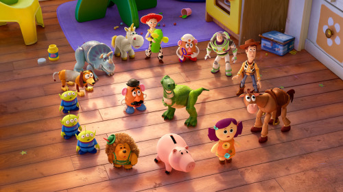 New 'Toy Story Partysaurus Rex' Images Contrast New Toys With The Old (via New 'Toy Story Partysaurus Rex' Images Contrast New Toys With The Old)