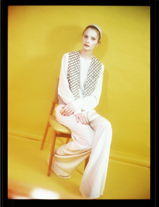 Suzie Bird in Stella McCartney by Cecile Bortoletti for Commons & Sense SS12