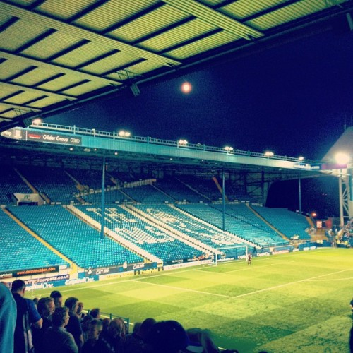 s0cialoutc4st:  #hillsborough #kop #swfc (Taken with Instagram)  Went to my first game in years today. Definitely going to see Wednesday quite a bit this season!