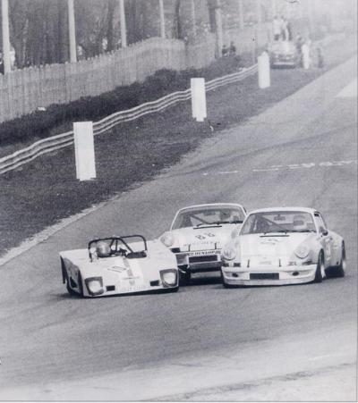 Porsche sandwich … Monza, 1972 national sportscar race