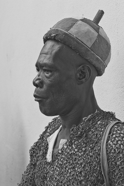 Warrior of the Sultan of Wandala, Mora, Cameroon by Alfred Weidinger on Flickr.