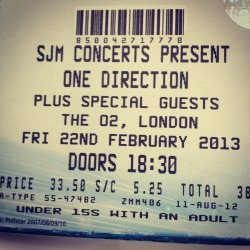 One Direction Tickets!