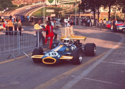 what we miss … an open paddockJack Brabham, Brabham-Ford BT33, 1970 Belgian Grand Prix, Francorchampslast Grand Prix to be held on the Francorchamps long circuit