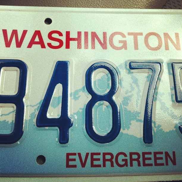 I guess this makes me official official. #finally  (Taken with Instagram at Ballard Auto/Vessel Licensing)
