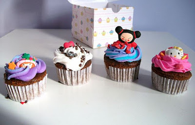 Not sure which one of these cupcakes is the cutest. DON'T MAKE ME CHOOSE.
