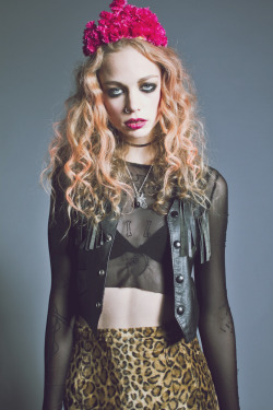 LAURA N channels COURTNEY LOVE in this aptly named editorial, LOVE, by LAUREN HAHN. Check out the rest of the shots (here)