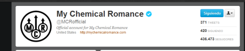 sleep-justsleep-wakeup:  shapinguptobeprettycondomz:  stained-red:   MCR's twitter  Ladies and gentlemen, we are officially in the new era.  WHAT T IS HAPAPENOMG  I don't know about the rest of you guys, but I'm pretty excited :D