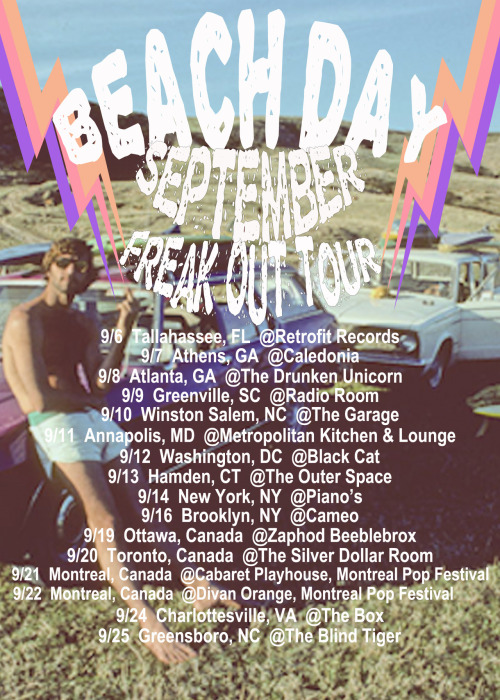 Our September tour dates are up!