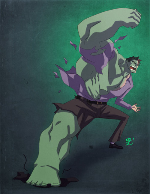 Hulking Out! by Eric Guzman / Blog