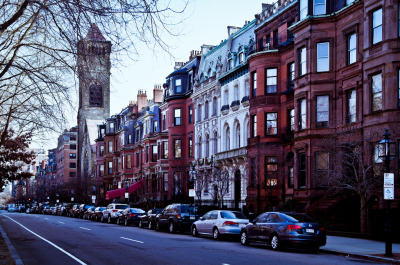 Back Bay, Boston (by Sunset Noir)