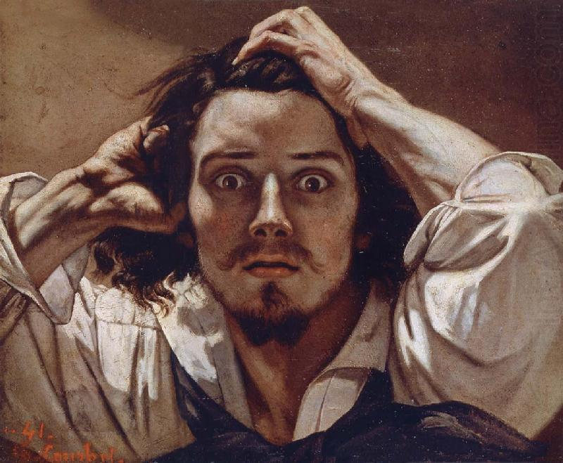 fuckyeahhistorycrushes:  Gustave Courbet. French painter who led the Realism movement, and rather attractive if this self-portrait is anything to go by. 1819-1877.