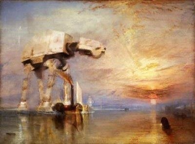 Turner didn't paint AT-ATs but if he did… - hYpe