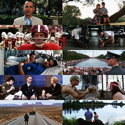 "justjasper:  Endless List of Films I Like | Forrest Gump (1994)  Forrest Gump: My momma always said, ""Life was like a box of chocolates. You never know what you're gonna get."""