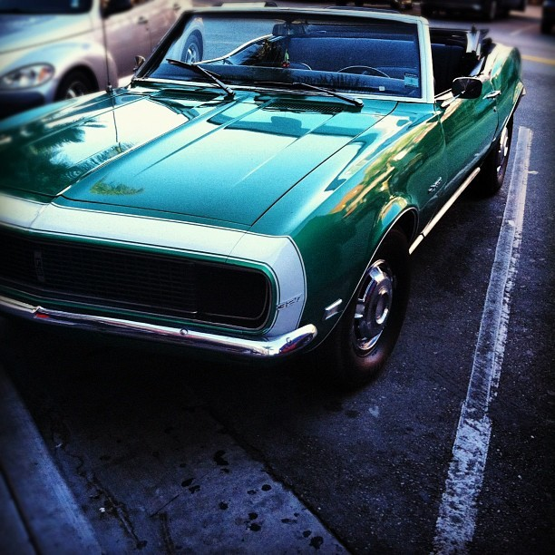 #vintage #car #convertible #HB (Taken with Instagram)