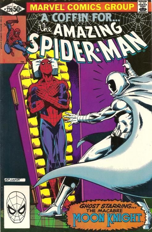 comicsabound:  The Amazing Spider-Man, No.220, Sept. 1981