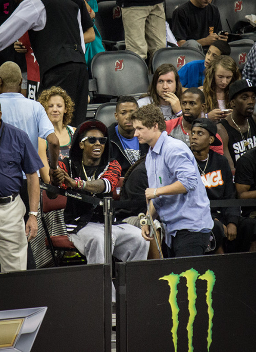 Lil Wayne n Shane Oneill photo by me