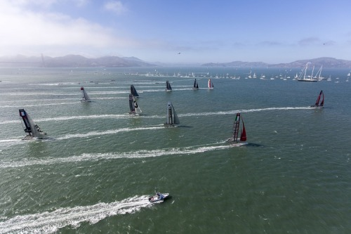 Oracle Team Usa, ACWS SAN FRANCISCO Race day 2