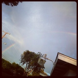 A rainbow at this time….kool (Taken with Instagram at 502 w.anahurst pl. Santa ana, ca 92707)