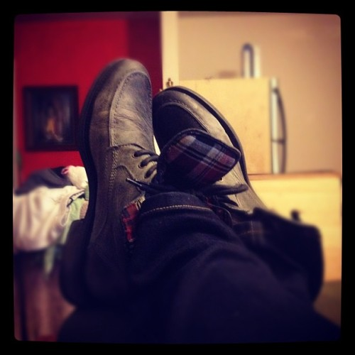 #gay #boots #sexy #feet  (Taken with Instagram)