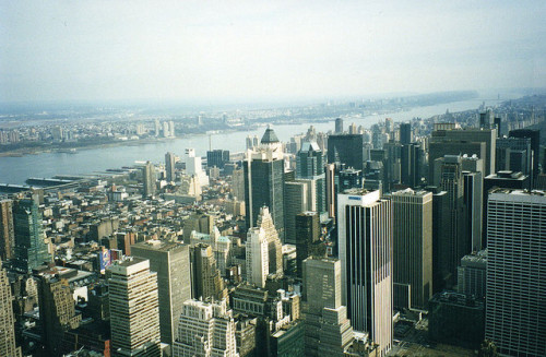 NYC from Empire State Building by Ted Jones on Flickr.