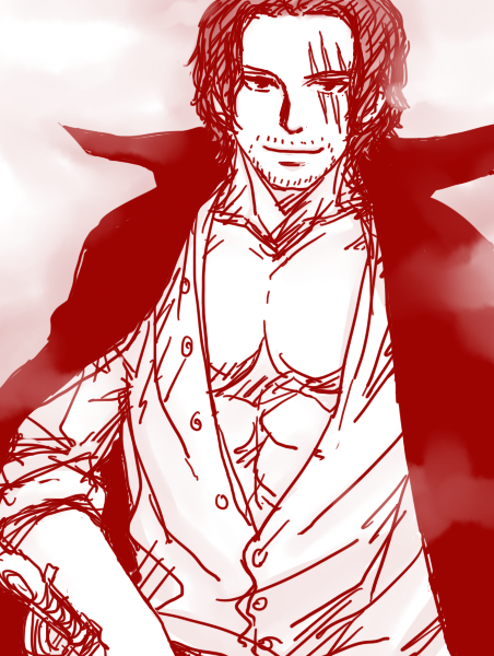 askmihawk:  I don't draw you enough Akagami. Let me fix that.
